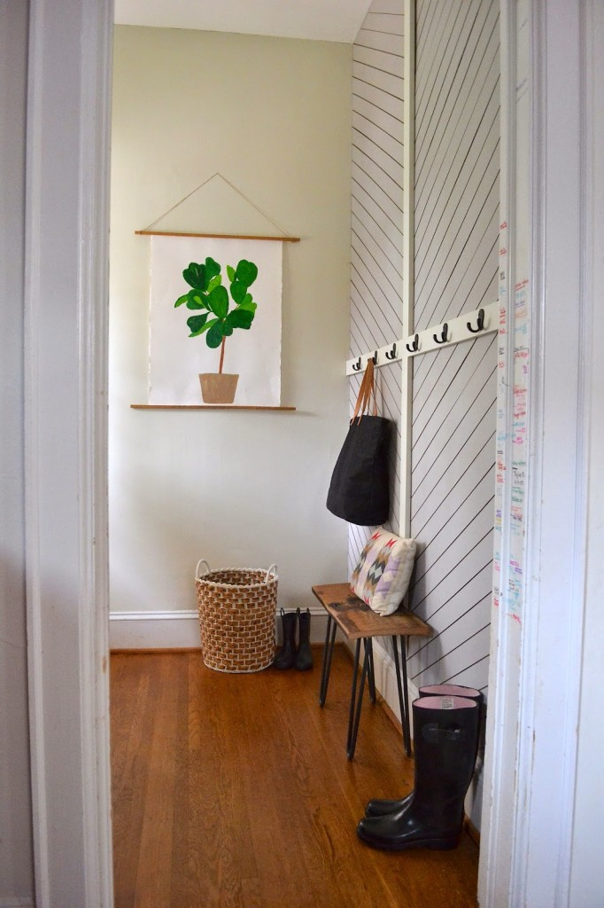 interiors, decor, home tour, makeover, reveal, mudroom, entry