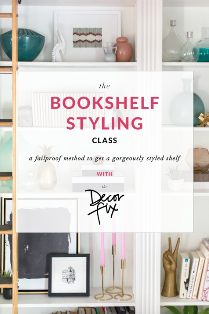 bookshelf styling, home decor, steps to style a bookshelf