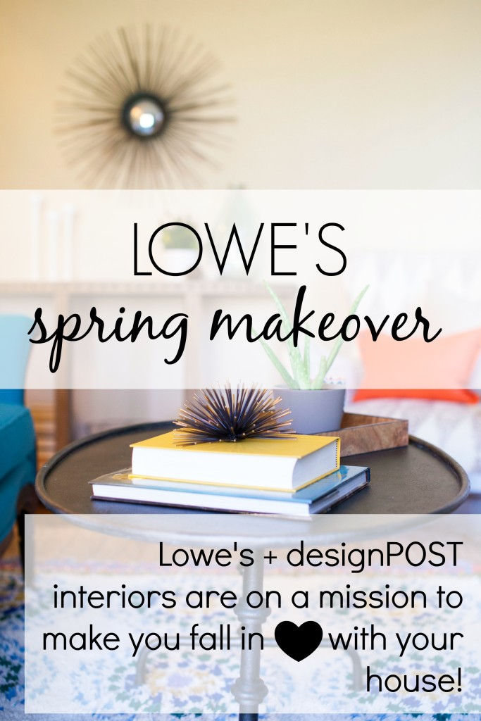 lowes spring makeover