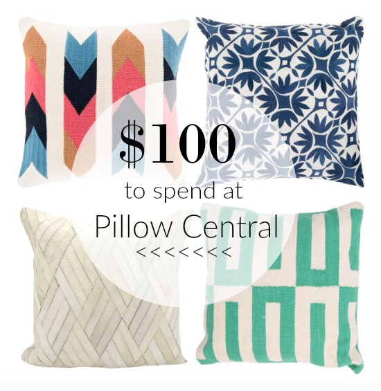 pillow central giveaway
