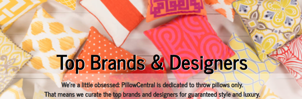 pillow central image