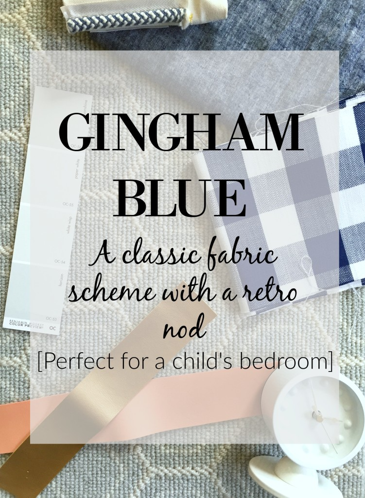 gingham boy scheme graphic