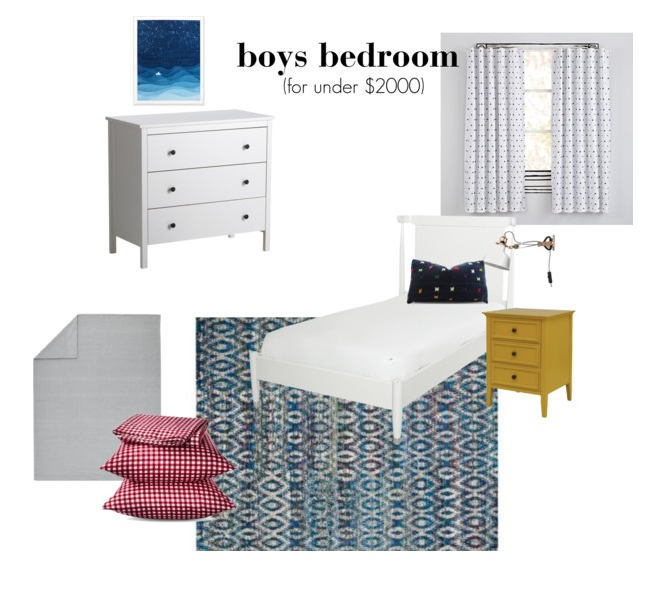 design board, room design, boys room design, e-design, kid spaces, interiors