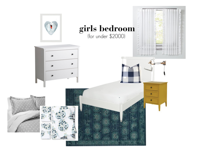 design board, room design, girls room design, e-design, kid spaces, interiors