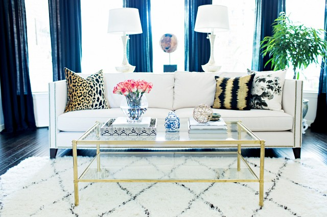 domaine home, modern, glam, decor, interiors