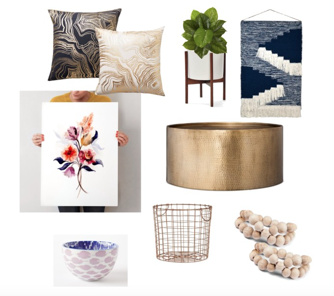 fall, moodboard monday, design board, shopping, inspiration, decor, home