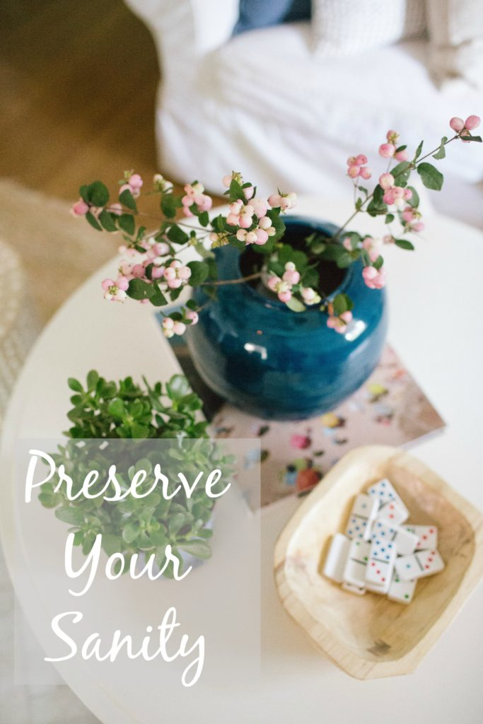 preserve-your-sanity