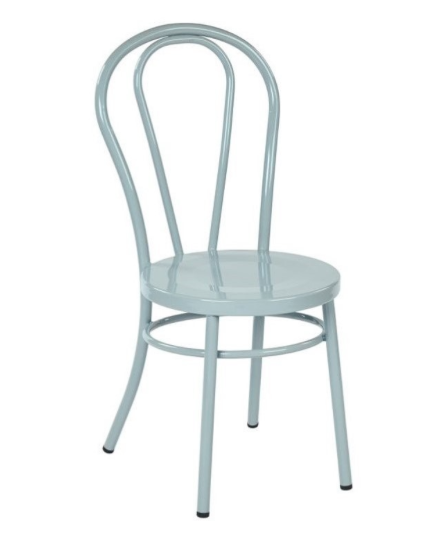 MX blue dining chair