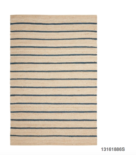 MX striped rug